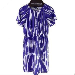 J Crew Factory Ikat Dress